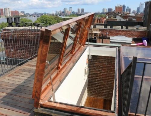 Automatic Roof Deck Door