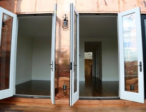 Deck doors Beacon St